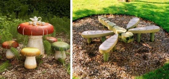 Playground-ideas-wooden-furniture-for-children