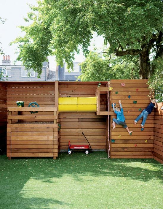 kids-playground-garden-climbing-wall