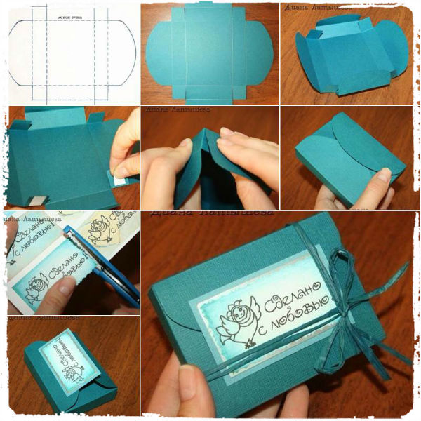 Как своими сделать подарочную коробку