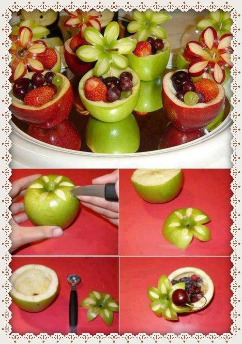 Как красиво сделать с фруктами