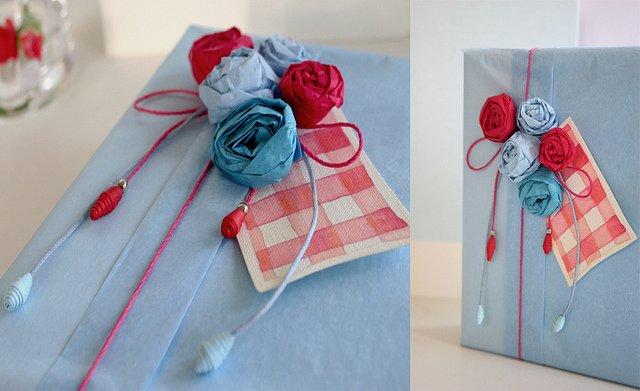 Как украсить подарок на день рождения своими руками 24