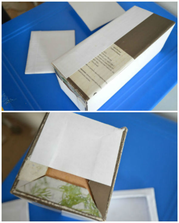 Чайный домик из картона мастер-класс
