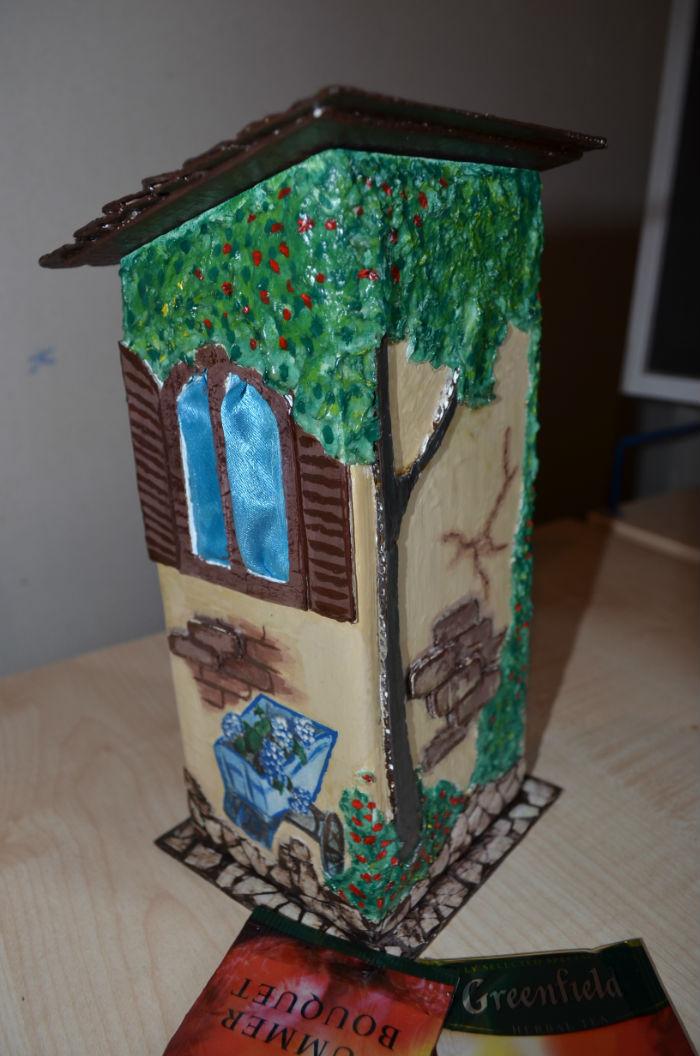 Как сделать чайный домик для чайных пакетиков 204